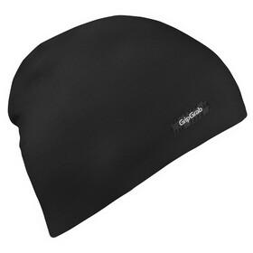 GripGrab Cappello leggero in fibra misto lana merino, nero